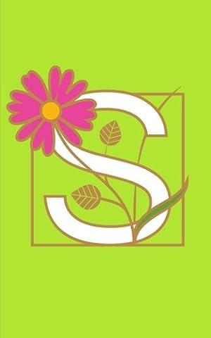 S: Monogram Initial Letter