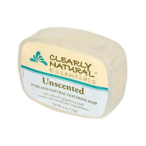 Clearly Natural Unscented Soap 120 ml