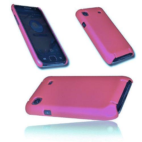 DESIGN HARD BACK COVER CASE HÜLLE SCHALE - FARBE PINK / ROSA für SAMSUNG i9000 GALAXY S I9000 Hard Case