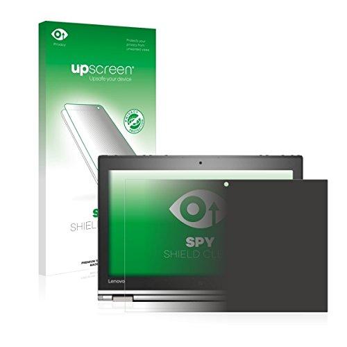 upscreen Spy Shield Clear Blickschutzfolie / Privacy für Lenovo ThinkPad Yoga 260 (Sichtschutz ab 30°, Kratzschutz, selbstklebend)