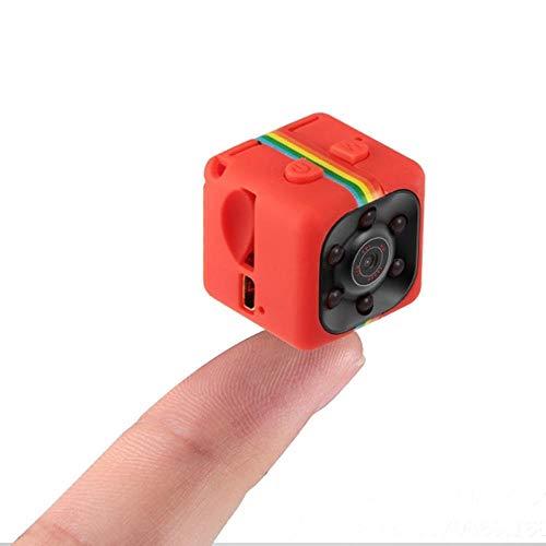 HongTeng HD 1080P Kamera Mini Spy Camera Infrarot Licht Nachtsicht Sport DV Kleine Überwachungskamera für Zuhause (Color : Red) - Vision Cam Xbox