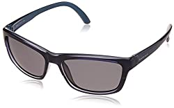 Fastrack Gradient Square Mens Sunglasses - (P303BK1P|Blue Color)