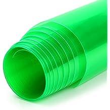SKS Distribution - Vinilo para faros de coche, autoadhesivo, impermeable, 100 x 30cm, color verde
