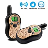 Children Walkie Talkie For Kids, Army Camouflage Walky Talkys Toddler Detective Kits, Spy Gear Boys Tool Belt Toys For Children Military Outdoor Radio Games, Best Birthday Gifts for 4 5 6 7 8 9 Year Old Boys Girls, Science For Kids
