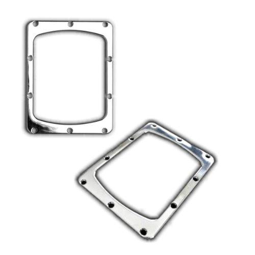KMH-CSR304 - Chrom Schaltrahmen Rahmen Blende Zierleiste passend für 206 306 Clio