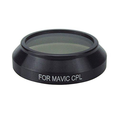 Rantow Quadcopter Leichte CPL Polarisator Filter Kamera Objektiv Filter für DJI Mavic Pro Drone Keine Werkzeuge benötigen tragbare CPL-Filter