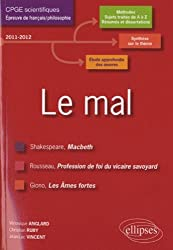 Le mal français prépa scientifique études dissertations (macbeth-profession de foi-ames fortes)