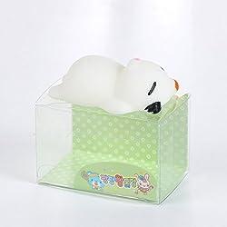 Zorbes Mini Cartoon Fox TPR Animal Squishy Toy Funny Stress Reliever Decoration Gift