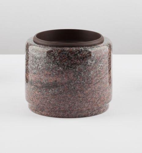 Kleine Grabschale aus Granit, 15 cm Durchmesser