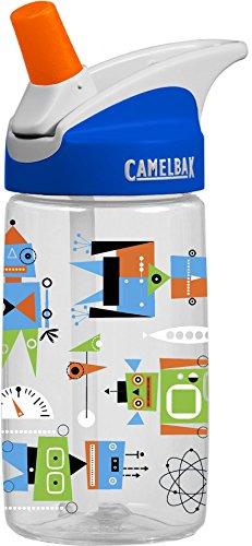 Camelbak Kinder Trinkflasche eddy Kids Atomic Robots Wasserflasche, 400 ml -
