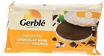 Gerblé Galettes Riz Chocolat Noir Saveur Orange 130,4 g