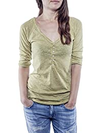 Ella Manue Frauen Serafino Shirt Clara