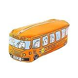 Mimiga Astuccio per Matite Astuccio per Matite Cartoleria Astuccio per Matite Rifornimenti per Studenti Mini Bus Design Astuccio per Matite in Tela