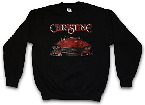 christine-car-pullover-sweatshirt-jersey-sweater-pulover-coche-stephen-auto-58er-plymouth-fury-arnie