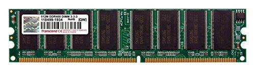 Transcend TS64MLD64V4J DDR 400 512MB Arbeitsspeicher (Motherboard 512 Mb)
