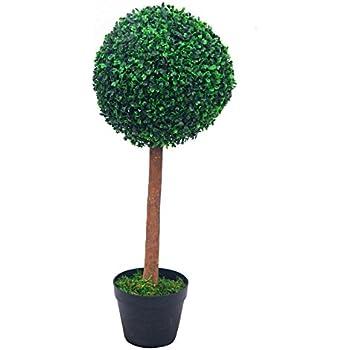 buchsbaum k nstlich deko h he 60 cm mit topf buxus buchsbaumkugel. Black Bedroom Furniture Sets. Home Design Ideas