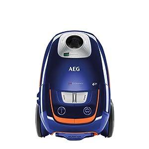 AEG VX8-3-DB-M Aspirador con bolsa, A+BAA, 600W, 61dB, 12m radio de acción, con cepillos extra