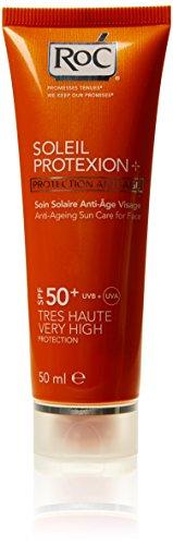 RoC - Protezione solare anti-age con SPF 50+, 50 ml