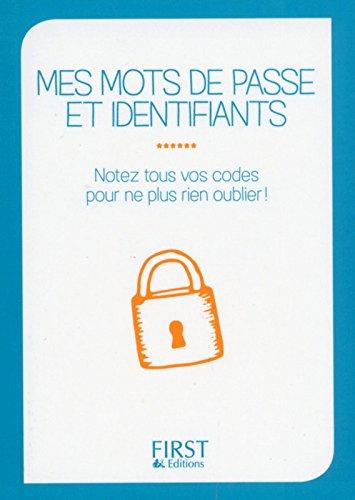 Petit livre de - Mes mots de passe et identifiants par Clémentine GARNIER