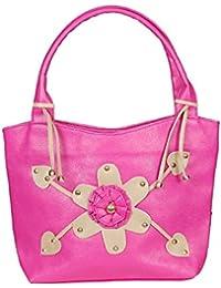 NBM Ladies Handbag, Pink   Stylish/Modern/Trendy Handbag   Classic Designs Handbag For Women And Girls   Stylish...