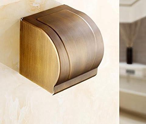 Sucastle Continental, WC-Papier Fach, Bäder, hängend, Kupfer, Papier Handtuchhalter, Antike, wasserdicht, WC-Papier Sucastle