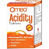 BJain Omeo Acidity Tablets for Sour Eructation, Heartburn and Acidity. 25gms Pack of