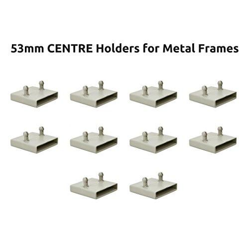 The Bed Slats Company 53mm Mitte Bett federleistenhalter Kappen für Metall Frames–2Zinken (10Stück)