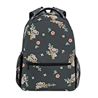 CPYang Star Galaxy Animal Wolf Backpacks College School Bag Shoulder Casual Travel Daypack Hiking Camping