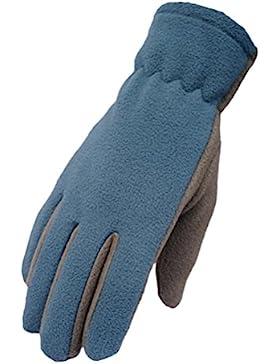 Zhhlaixing Fine Unisex Waterproof Fleece Warm Gloves Adult Outdoor Sports Non-slip Gloves