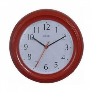 horloge-murale-en-bois-du-wycombe-rouge