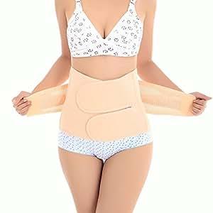 Riposo SUMERSHA post-partum cintura elastica traspirante addominale amputare pancia dimensioni pancia dopo la borraccia Schwa codolo per donne e madre codolo (m)
