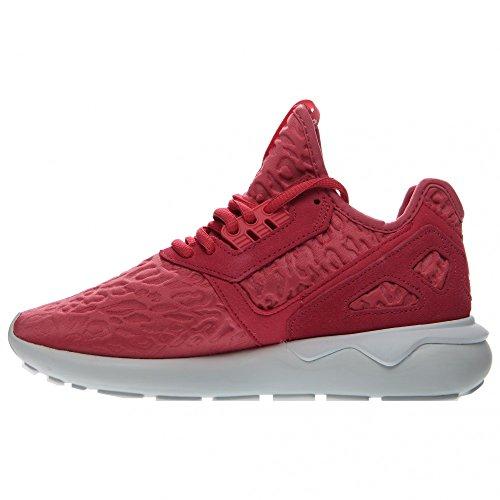 Adidas tubolare Runner di colore rosa / bianco S78930 Pink