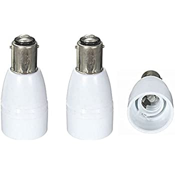 Luxvista Lamp Socket Converter B15 To B22 Sbc Bayonet To Bc Bayonet Base Adapter 6 Pack