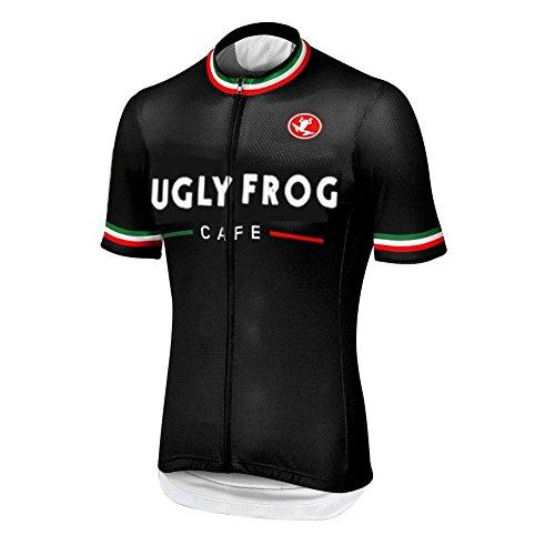Uglyfrog 2018 Newest Short Sleeve Cycling Jersey Men's Summer Top Outdoors Sportswear Bike Shirt H25