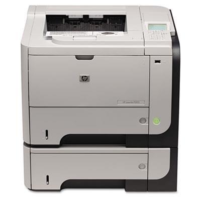 Hewlett-Packard Laserdrucker LaserJet P3015X USB/LAN, Grau/Schwarz -