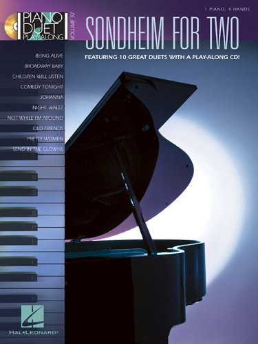 Piano Duet Play-Along Volume 32: Sondheim For Two (Book & CD Vol 32)