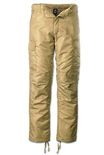 Brandit-Pantaloni termici B-1007-Pantaloni Cargo da uomo beige XL