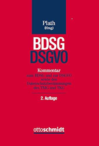 BDSGDSGVO-Kommentar-zum-BDSG-und-zur-DSGVO-sowie-den-Datenschutzbestimmungen-des-TMG-und-TKG