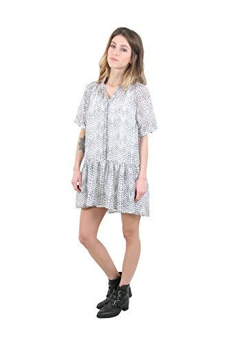 Sunshine - Robe à manches courtes - Femme Blanc