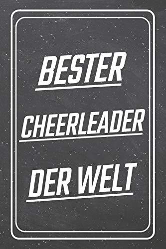 Bester Cheerleader der Welt: Cheerleader Punktraster Notizbuch, Notizheft oder Schreibheft | 110  Seiten | Büro Equipment & Zubehör | Lustiges Geschenk zu Weihnachten oder Geburtstag