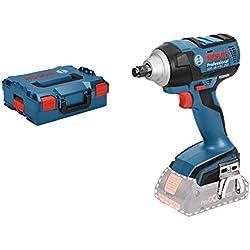 Bosch Professional Boulonneuse Sans Fil GDS 18 V-EC 250 (18 V, Ø de vissage : m 6 - m 16, L-Boxx, sans batterie)