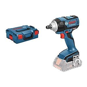 Bosch GDS 18 V-EC 250 Professional – Atornillador de impacto a batería, 2 baterías x 5.0 Ah, cargador, L-BOXX