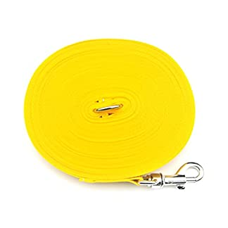 50ft/15m Dog/Horse Training Lead Large (25mm) In Various Colours (YELLOW) (CPM) 50ft/15m Dog/Horse Training Lead Large (25mm) In Various Colours (YELLOW) (CPM) 41BstRJorjL