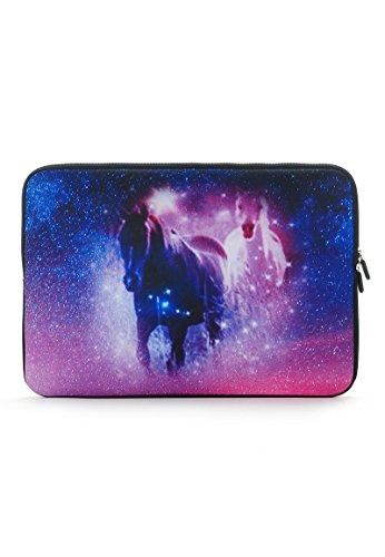 Laptophülle mit Pferden 14 inch Pferd 14 Zoll/Laptoptasche/Notebooktasche/Laptophülle/Laptop Schutzhülle/Notebook Tasche/Laptop Sleeve