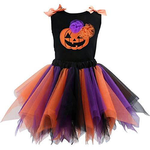 Niña Halloween Vestido Conjunto de Vestido