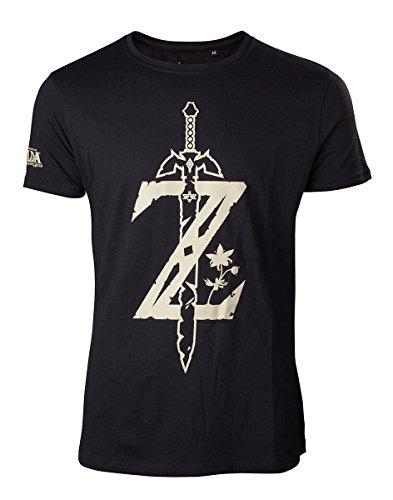 14c8c16f8 The Legend of Zelda T-Shirt Breath of The Wild Logo (L)