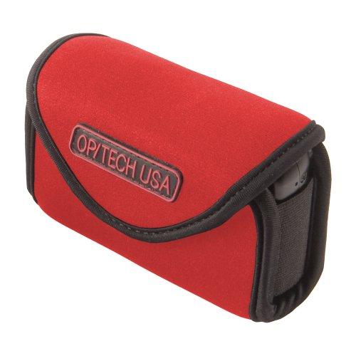 Optech USA Snappeez Schutzetui für Fotoapparat/Mobiltelefon, Querformat, Gr.M, Rot