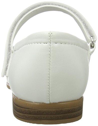 Indigo Mädchen 424 079 Geschlossene Ballerinas White