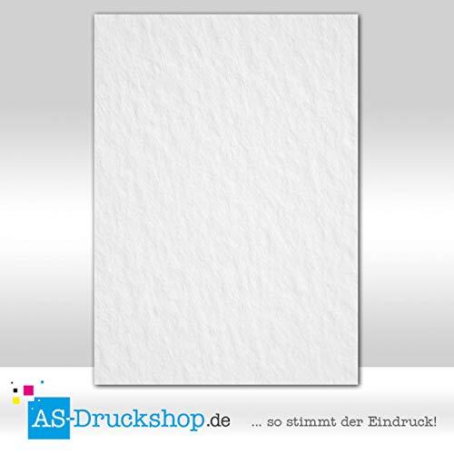 Diseño Papel textura–Estructura–Blanca–Papel pintado/100hojas/DIN A5/150g de Compensar Papel