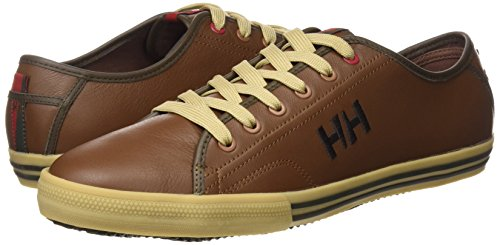 Helly Hansen Fjord Leather, Chaussures de Sport Homme Marron
